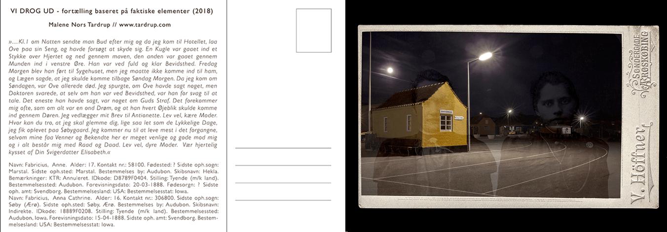 Vi Drog Ud (2018), Malene Nors Tardrup