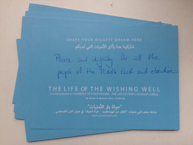 Suspence Life of the Wishing Well (2016), Malene Nors Tardrup