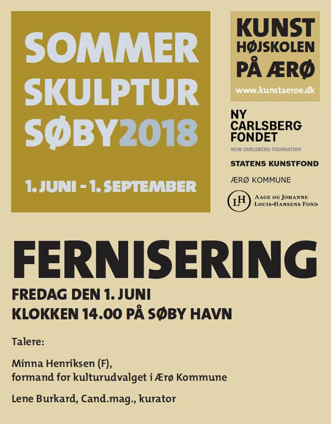 Vi drog ud (2018), Biennale Sommer Skulptur Søby, Malene Nors Tardrup