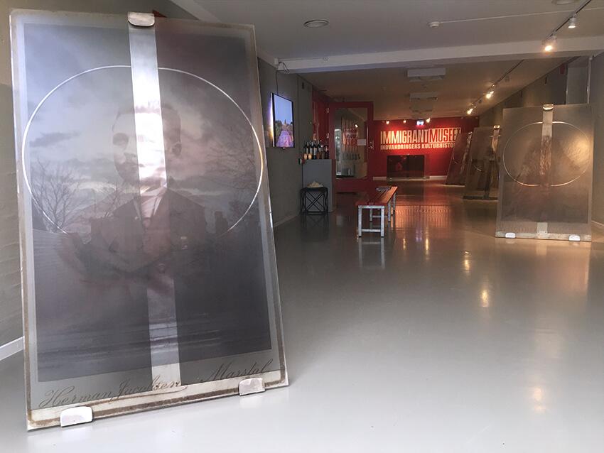 Vi drog ud (2018), Immigrantmuseet, Malene Nors Tardrup